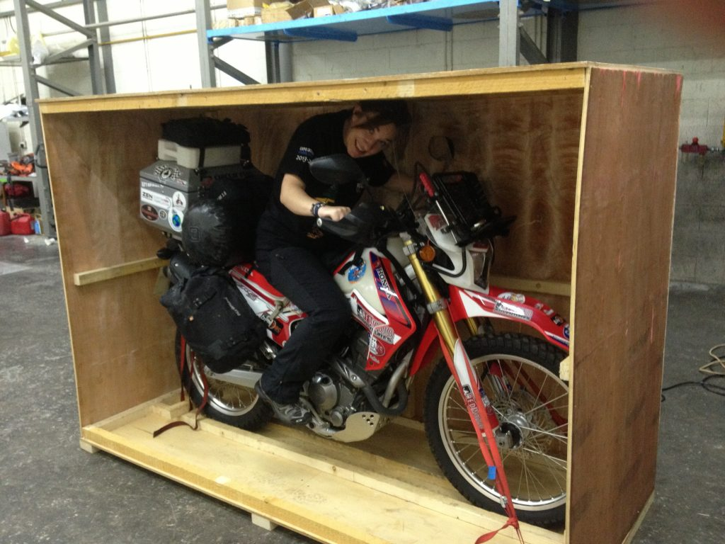 Shipping your motorcycle