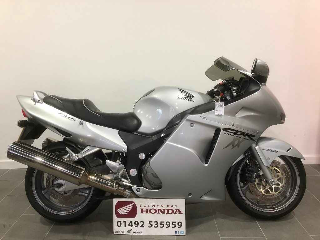 Colwyn Bay Motorcycles New And Used Honda Ktm How Big Is A Crf 125cc Dirt Bike Cbr1100xx Super Blackbird