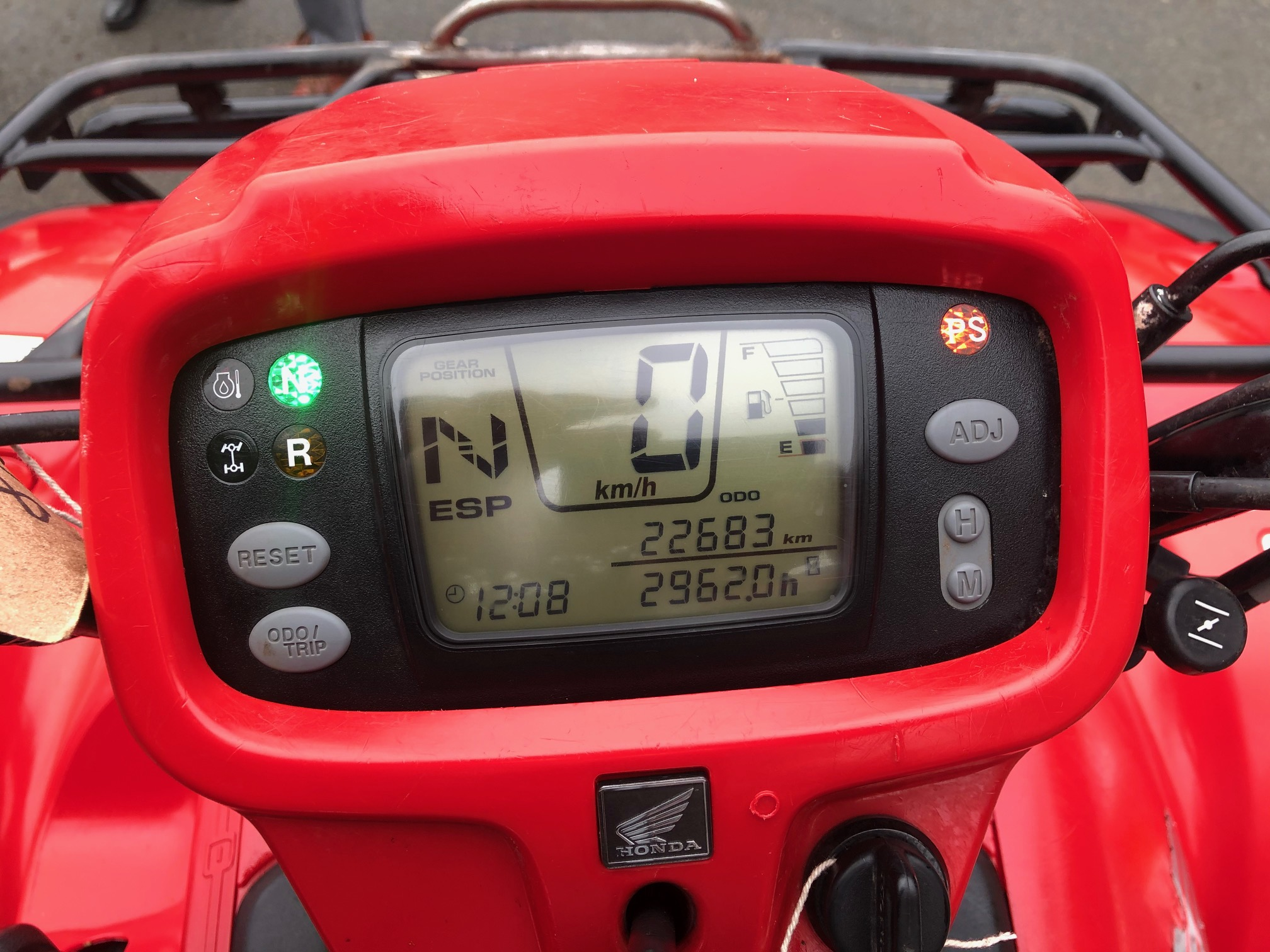Image of 2013 Honda TRX500 Auto PS
