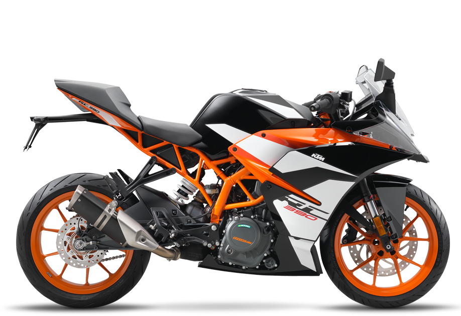 New 2018 KTM RC390