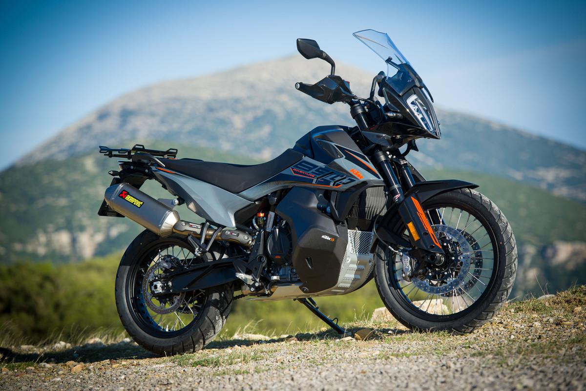 2021 KTM Street Motorcycles