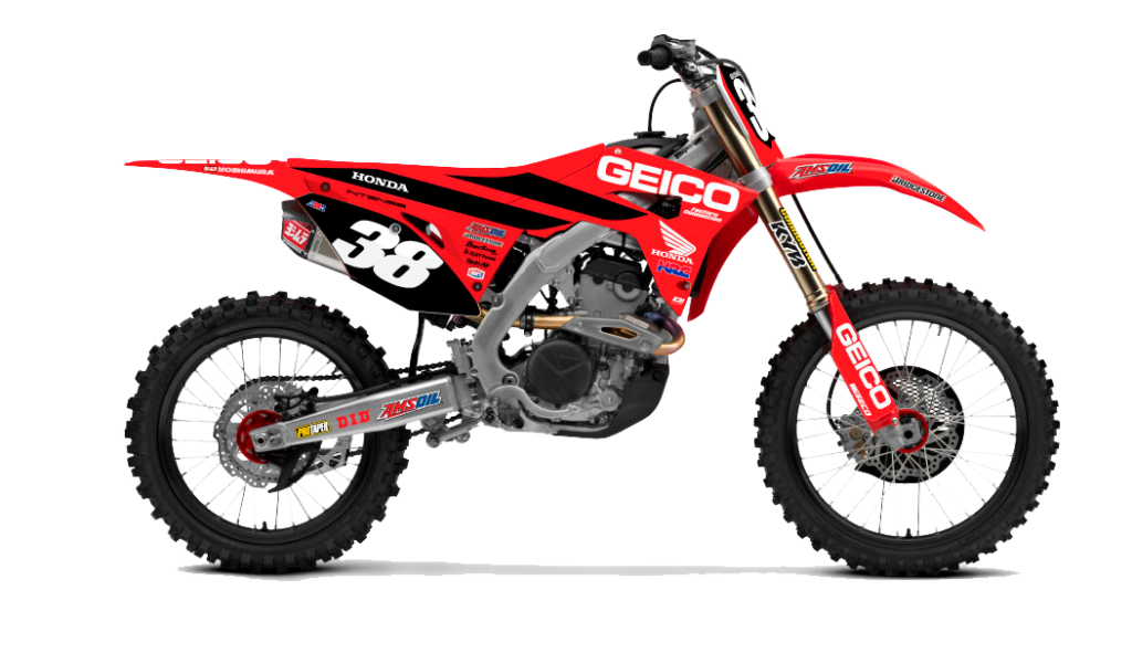 2020 Honda CRF250R Geico Edition