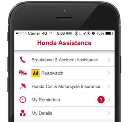 Free Honda Roadside Assistance