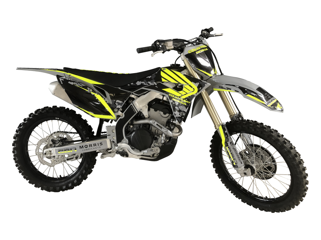 2020 Honda CRF250R Fluoro Edition