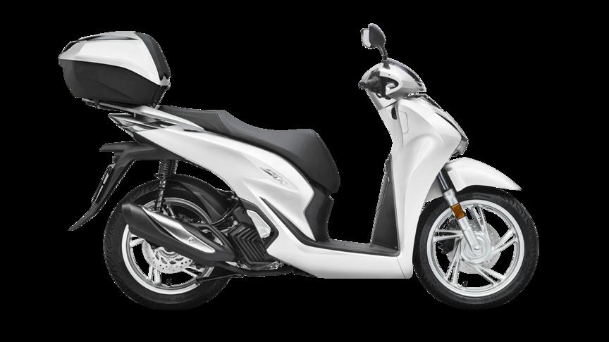 2021 Honda SH125i with Smart Top Box